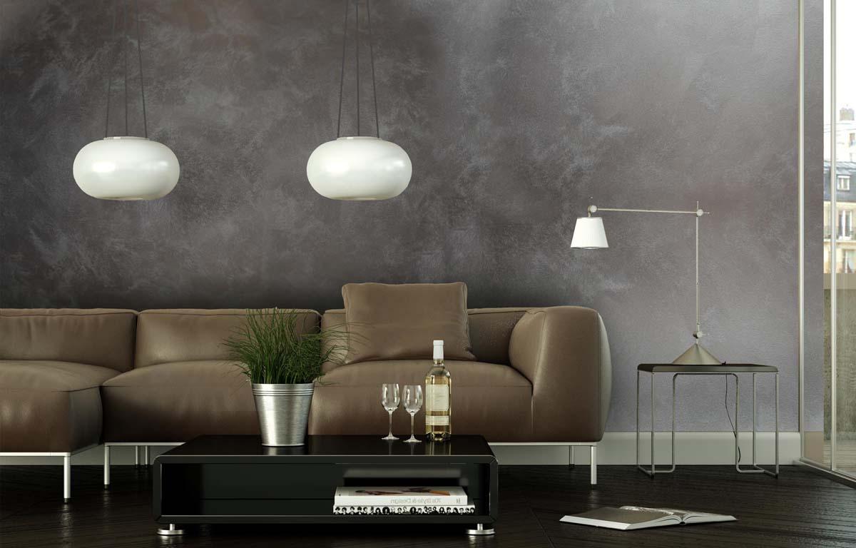 Wandgestaltung mit Produkt der Firma Arthe
