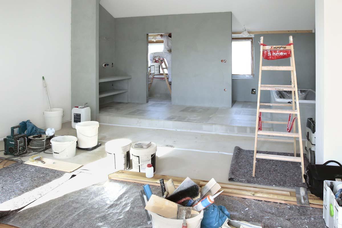 Sanierung Dachgeschoss