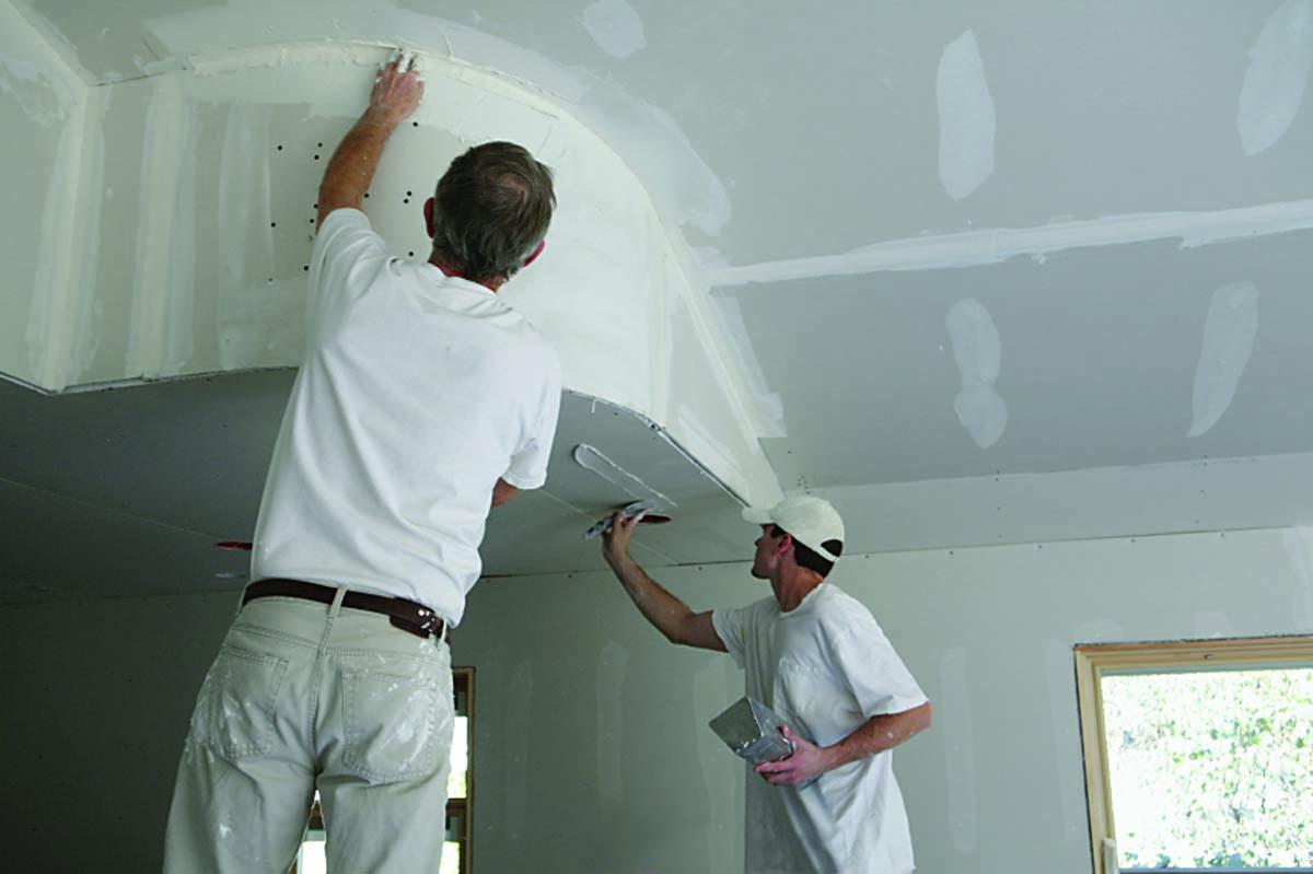 Neugestaltung Dachboden in Gipskarton