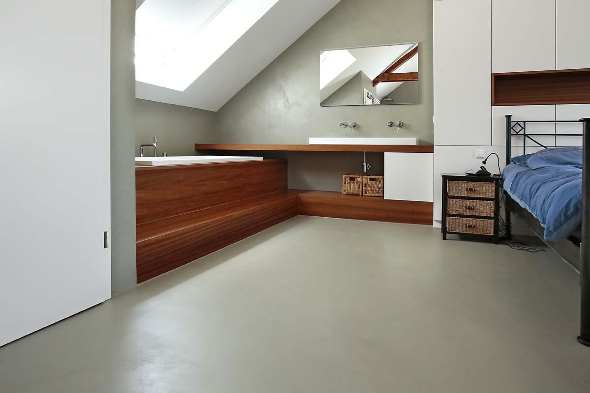 beton cir der fu boden aus einem guss kutten alain. Black Bedroom Furniture Sets. Home Design Ideas
