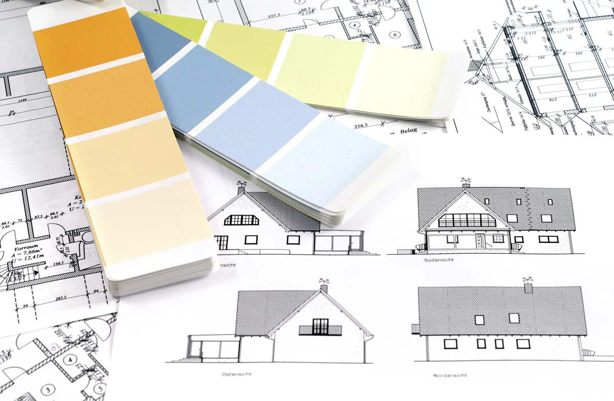 Lichtbeständige Fassadenfarbe in Luxemburg