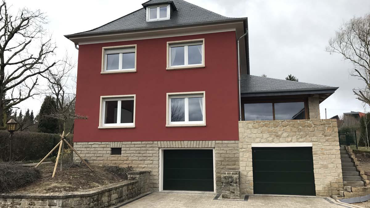 Fassadengestaltung in Grevenmacher