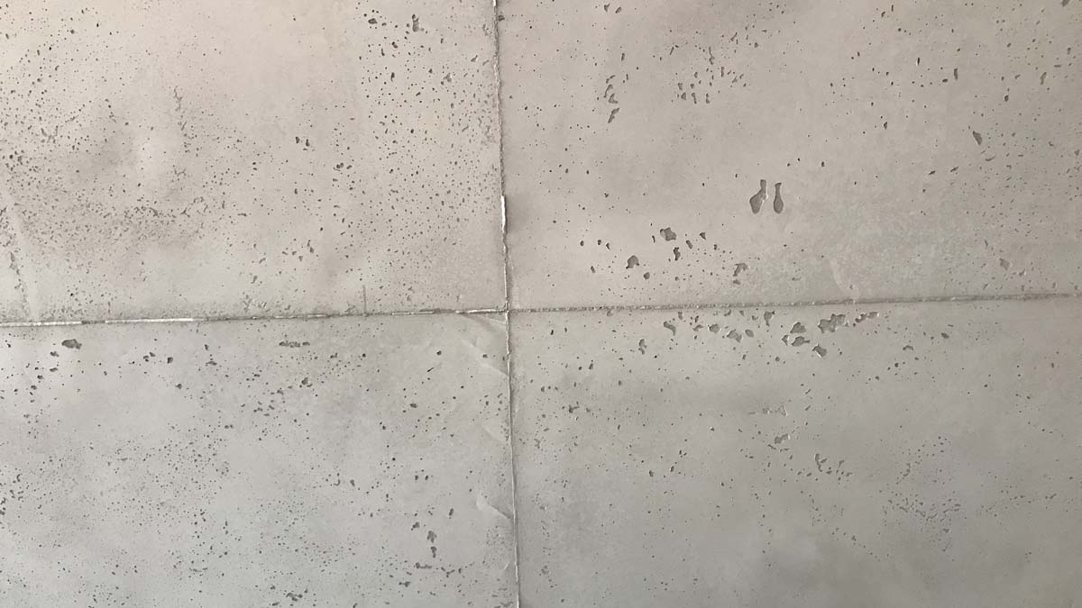 Fugenbild einer Betonoptik