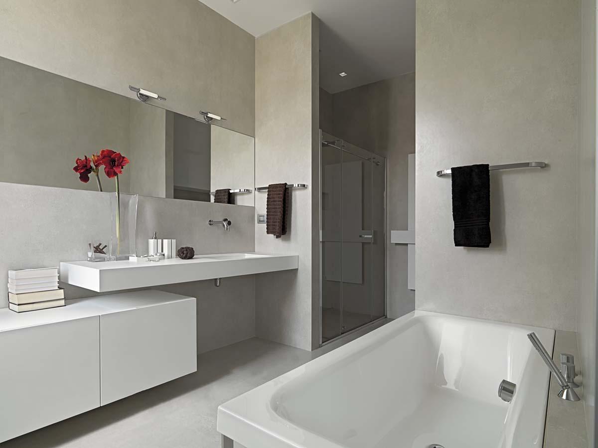 Fugenloses Badezimmer in Luxemburg