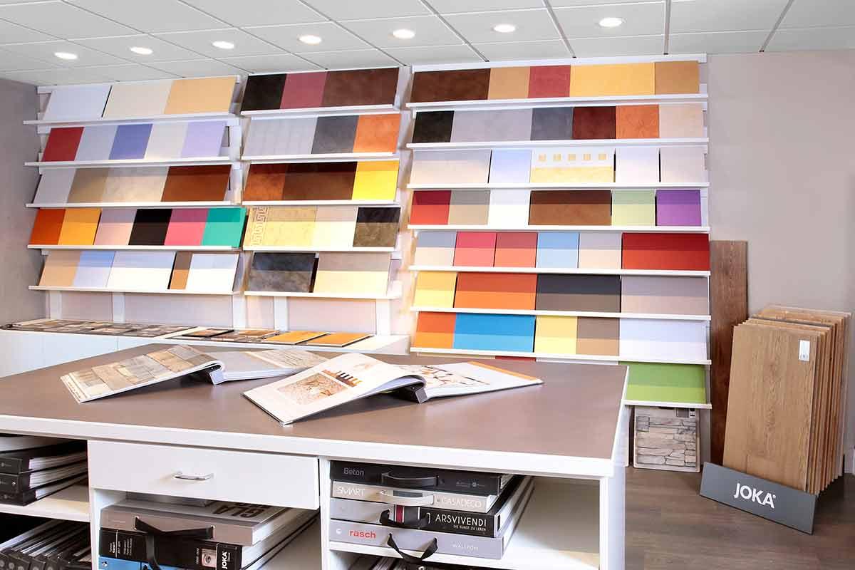 Showroom in Dudelange der Kutten Alain d'Gestaltungshandwierker