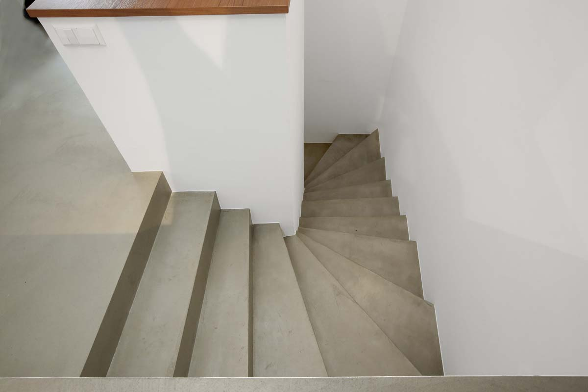 Effet Béton Escalier