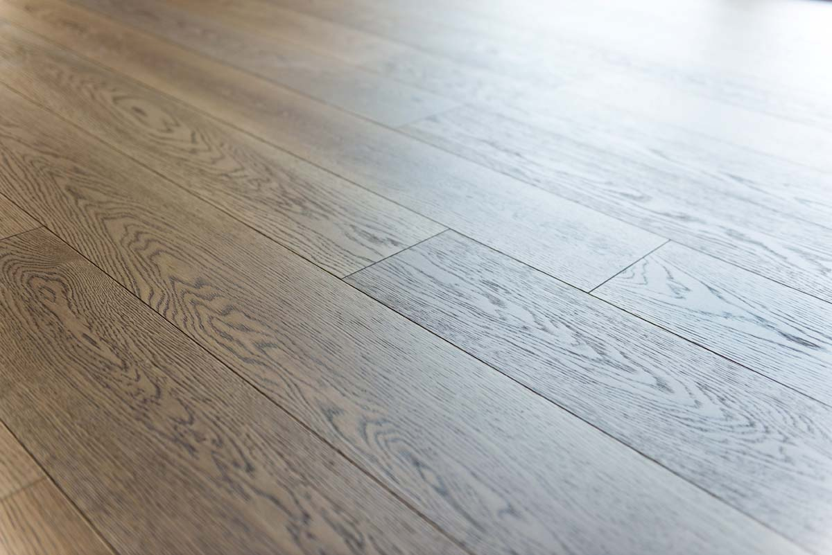 Pose parquet naturel