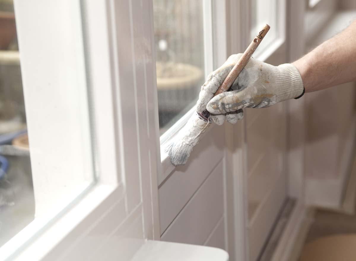Rénovation fenêtres avec laque